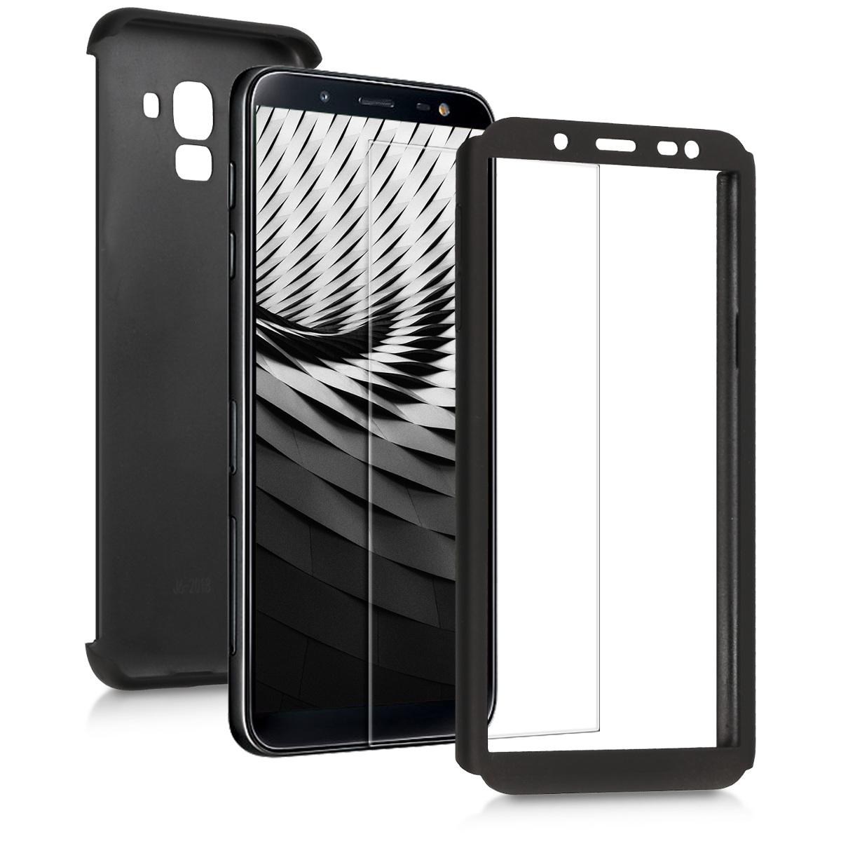 KW Θήκη Full Body  Samsung Galaxy J6 - Metallic Black (46591.68)