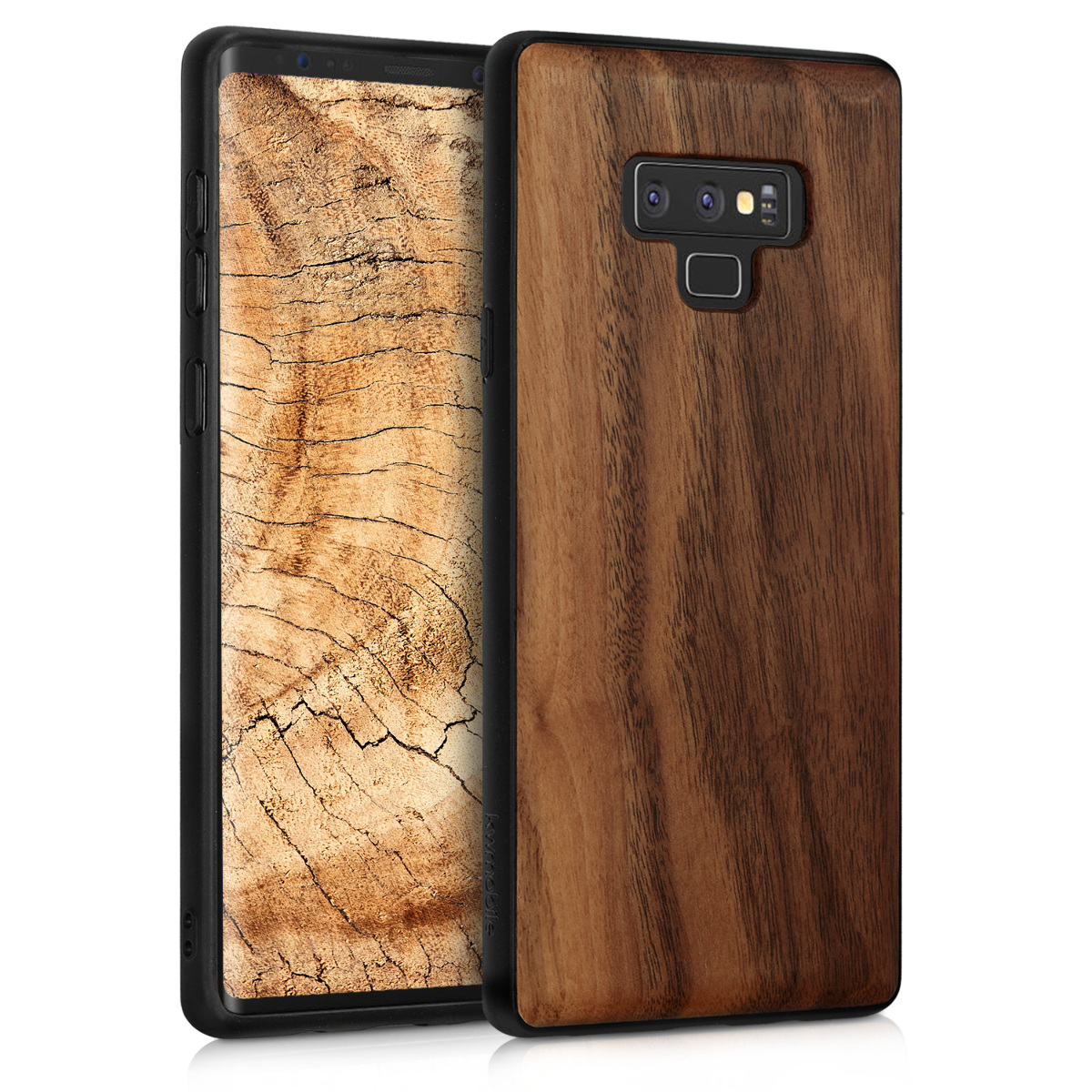 KW Ξύλινη Θήκη Samsung Galaxy Note 9 - Dark Brown (46624.18)