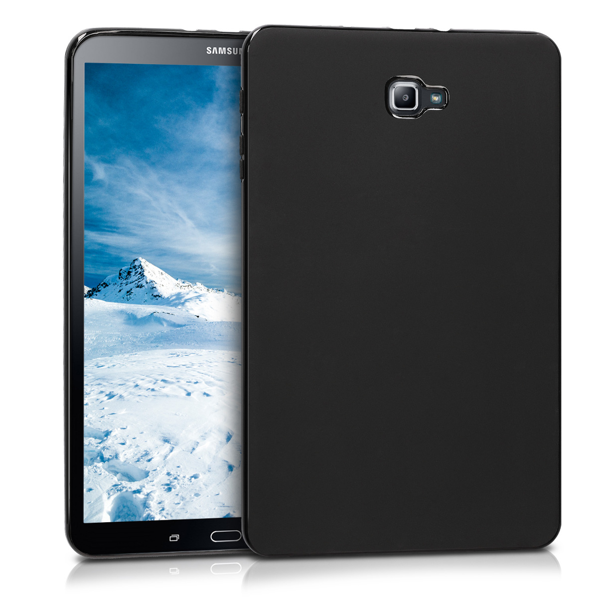 KW Θήκη Σιλικόνης Samsung Galaxy Tab A 10.1 2016 T580N/T585N - Black Matte (46648.47)