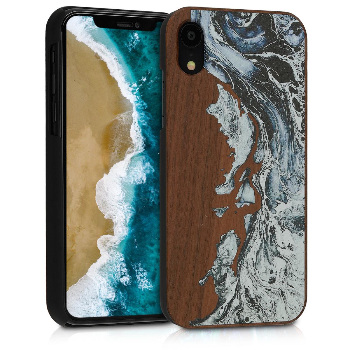 KW Ξύλινη Θήκη iPhone XR - Brown (46660.02)