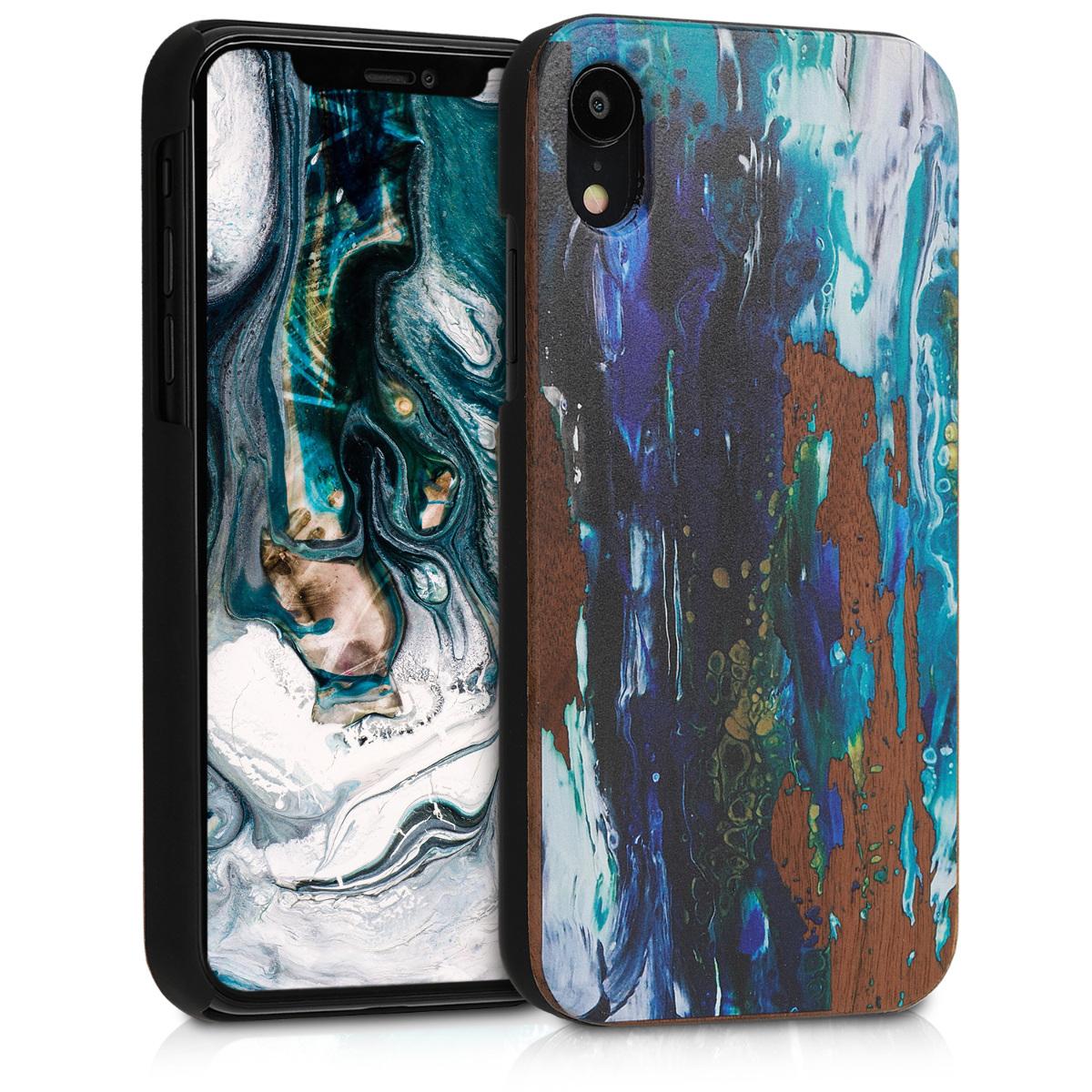 KW Σκληρή Ξύλινη Θήκη iPhone XR (46660.04)