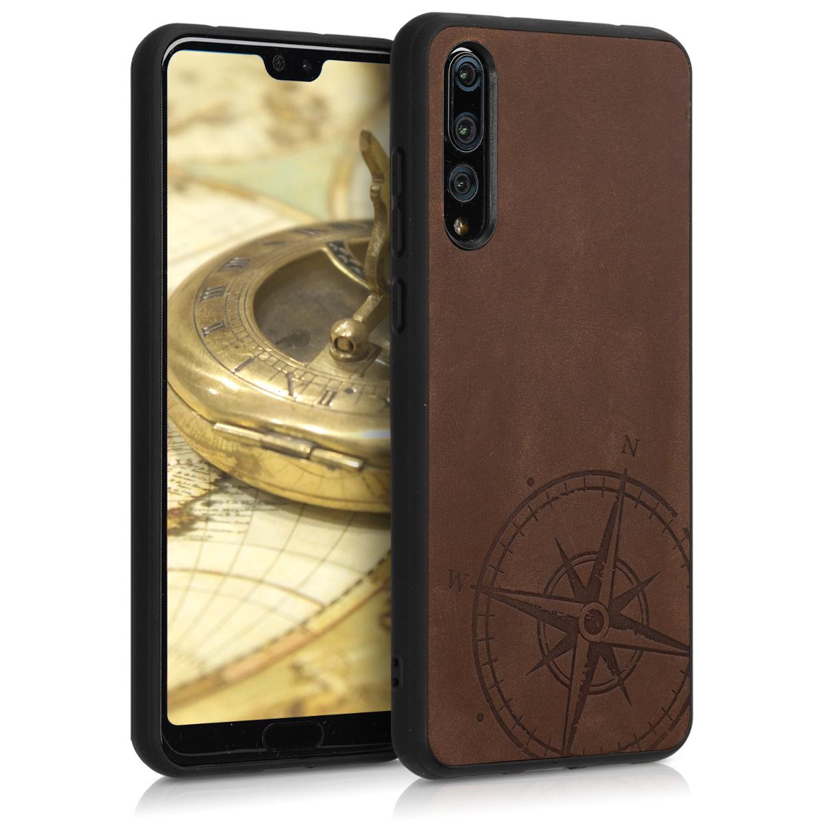 Kalibri Δερμάτινη Θήκη Huawei P20 Pro - Brown (46699.01)