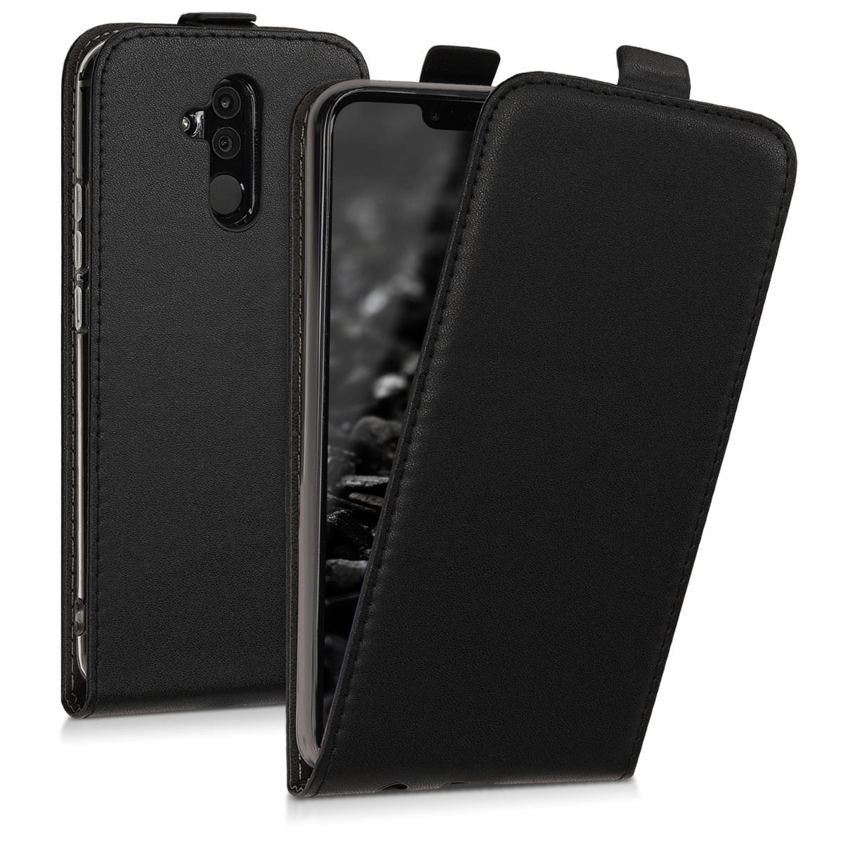 KW Flip Θήκη Huawei Mate 20 Lite - Black (46710.01)