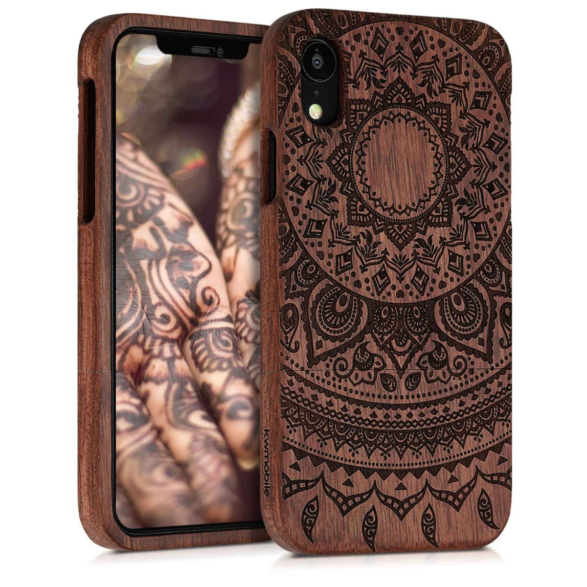 KW Ξύλινη Θήκη iPhone XR - Dark Brown (46749.01)
