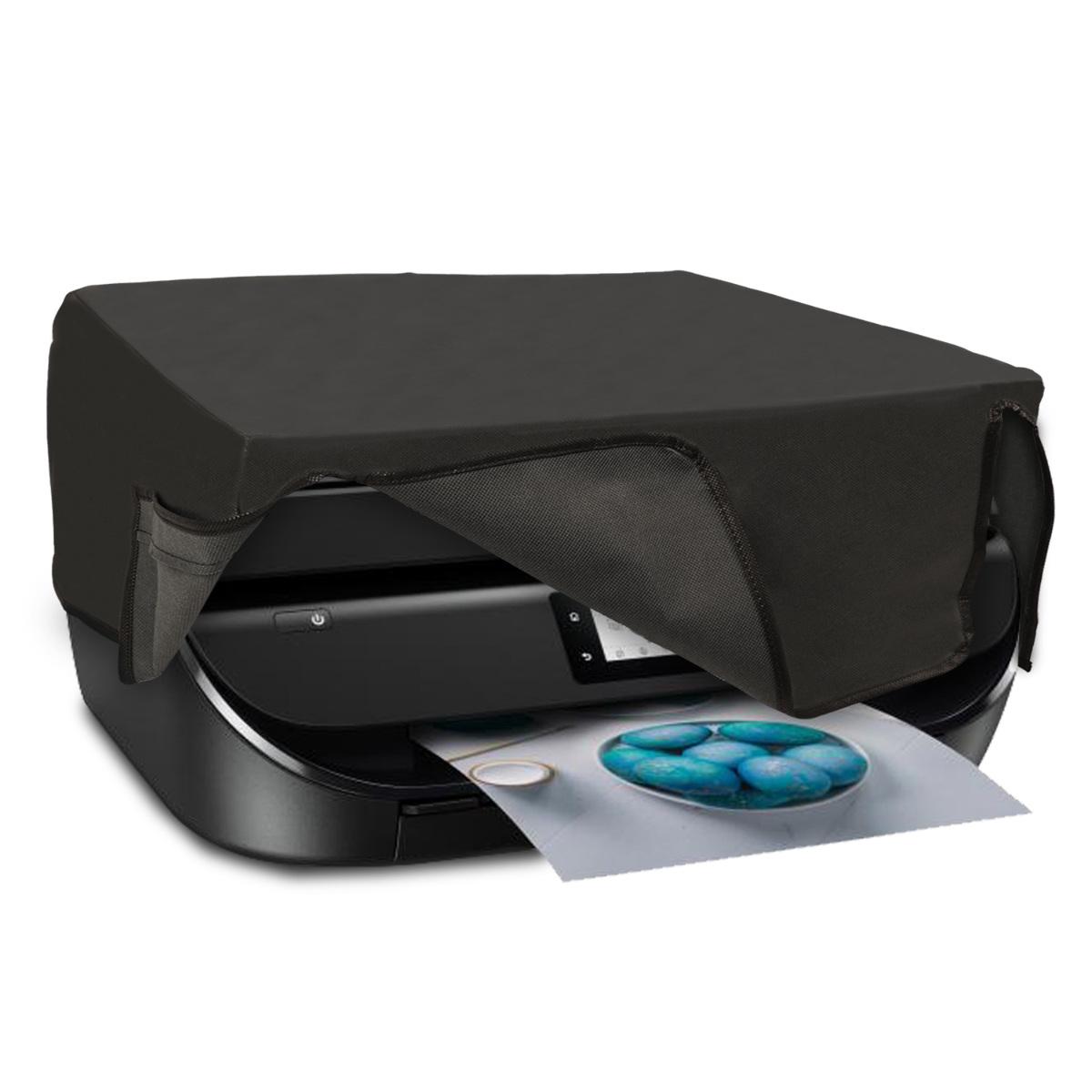 KW Κάλυμμα Εκτυπωτή HP OfficeJet 5230 / 5232 - Dark Grey (46826.19)