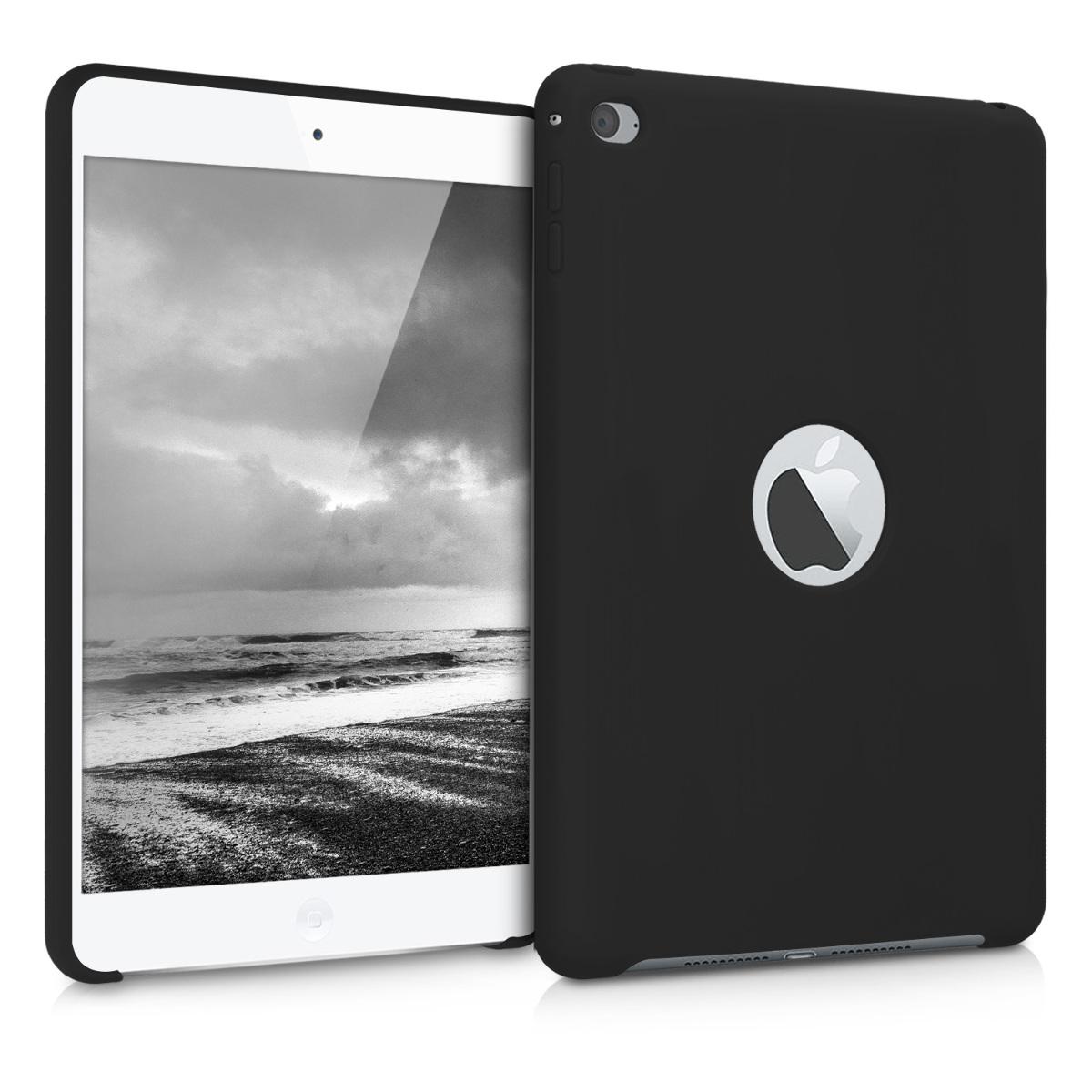 KW Θήκη Σιλικόνης iPad Mini 4 - Black Matte (46862.47)