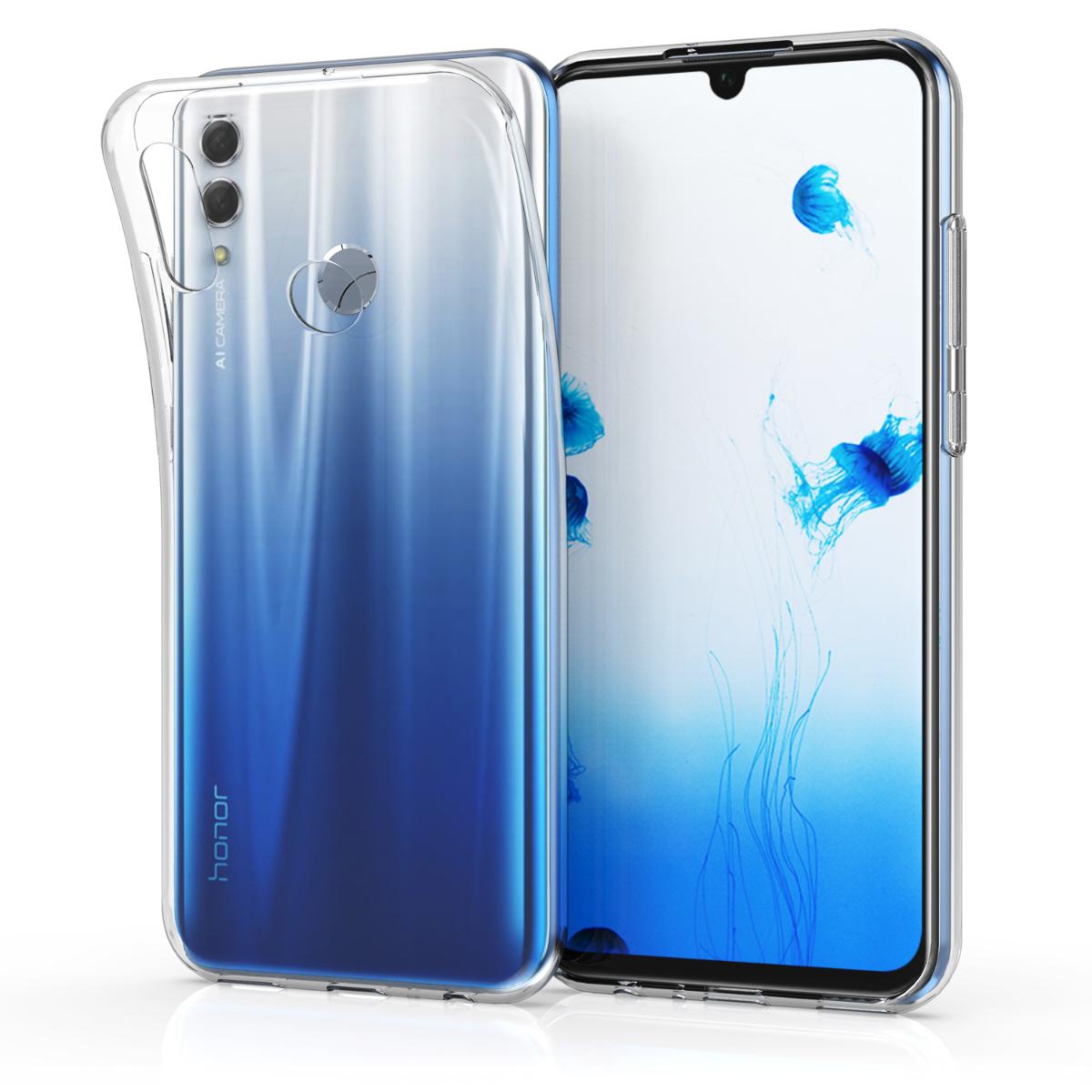 KW Διάφανη Θήκη Σιλικόνης Huawei P Smart 2019 - Transparent (47002.03)