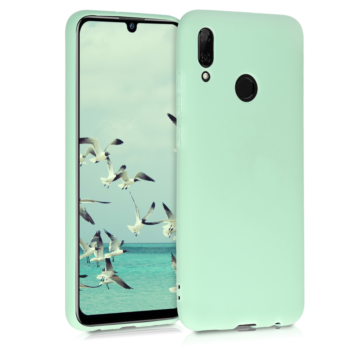 KW Θήκη Σιλικόνης Huawei P Smart 2019 - Mint Matte (47386.50)