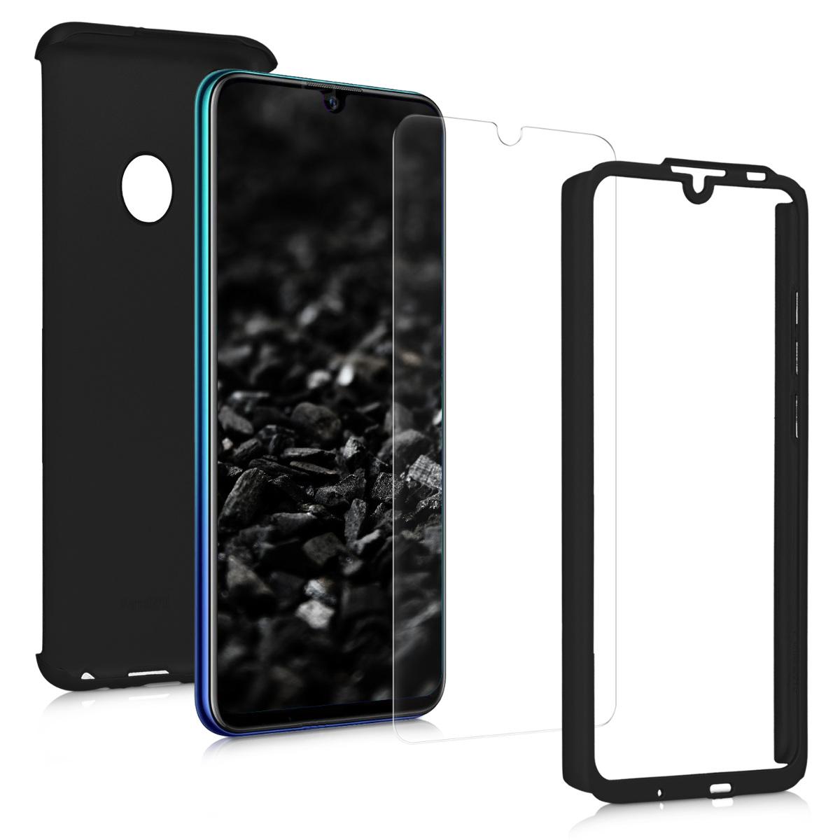 KW Θήκη Full Body Huawei P Smart 2019 & Tempered Glass - Metallic Black (47391.68)
