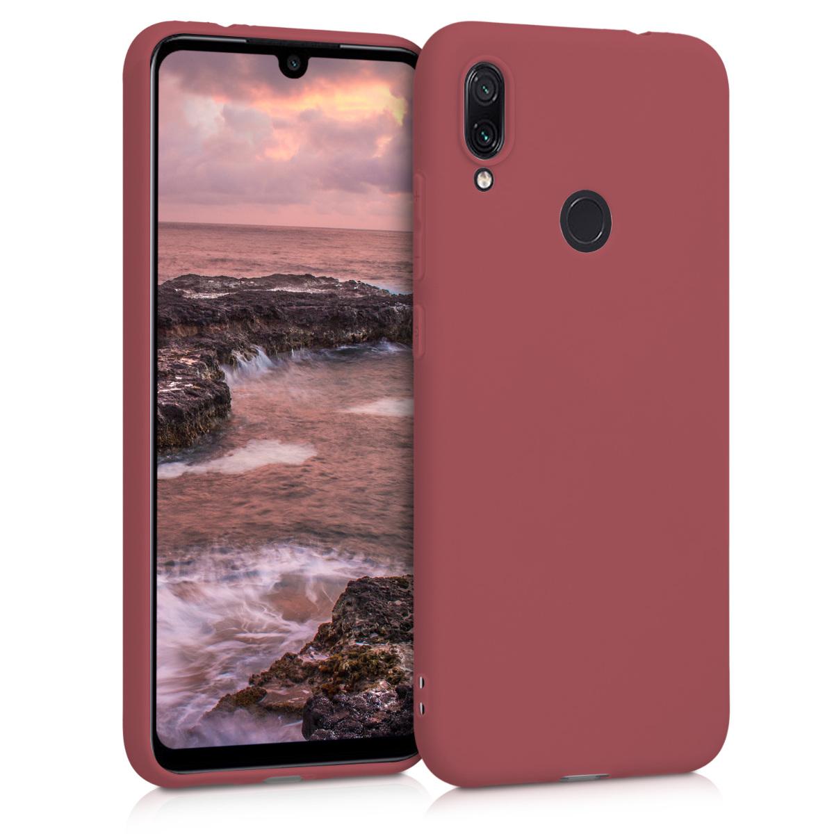KW Θήκη Σιλικόνης Xiaomi Redmi Note 7 / Note 7 Pro - Maroon Red (47571.160)