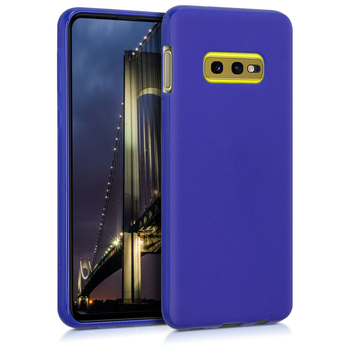 KW Θήκη Σιλικόνης Samsung Galaxy S10e - Soft Flexible Shock Absorbent Protective Phone Cover - Royal Blue (47574.134)