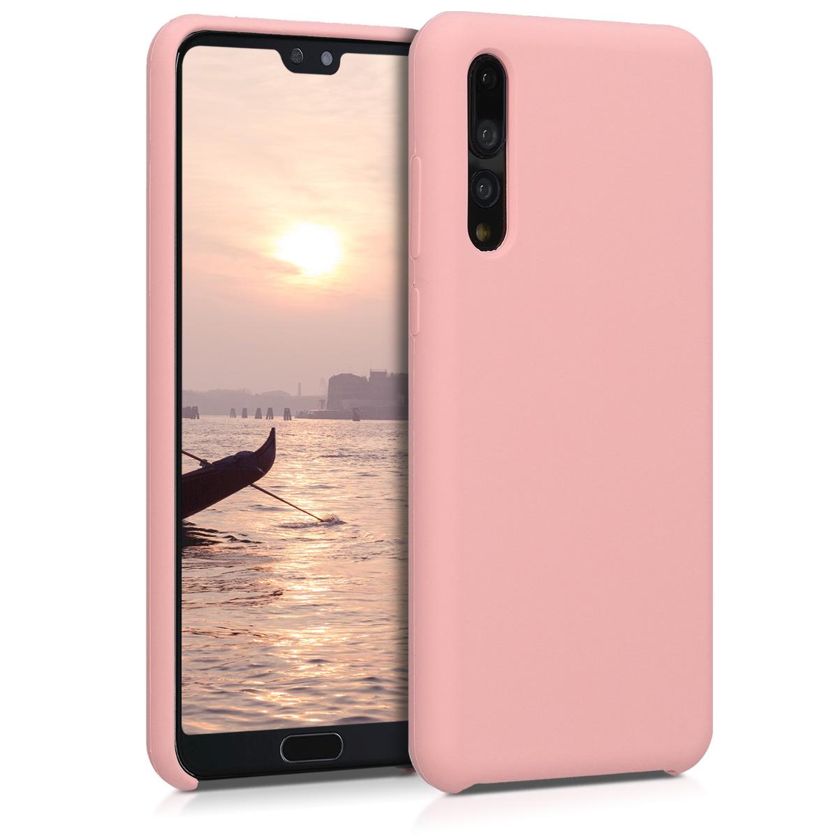 KW Soft Flexible Rubber Θήκη Σιλικόνης (TPU) - Huawei P20 Pro - Ανοιχτό ροζ (47706.89)