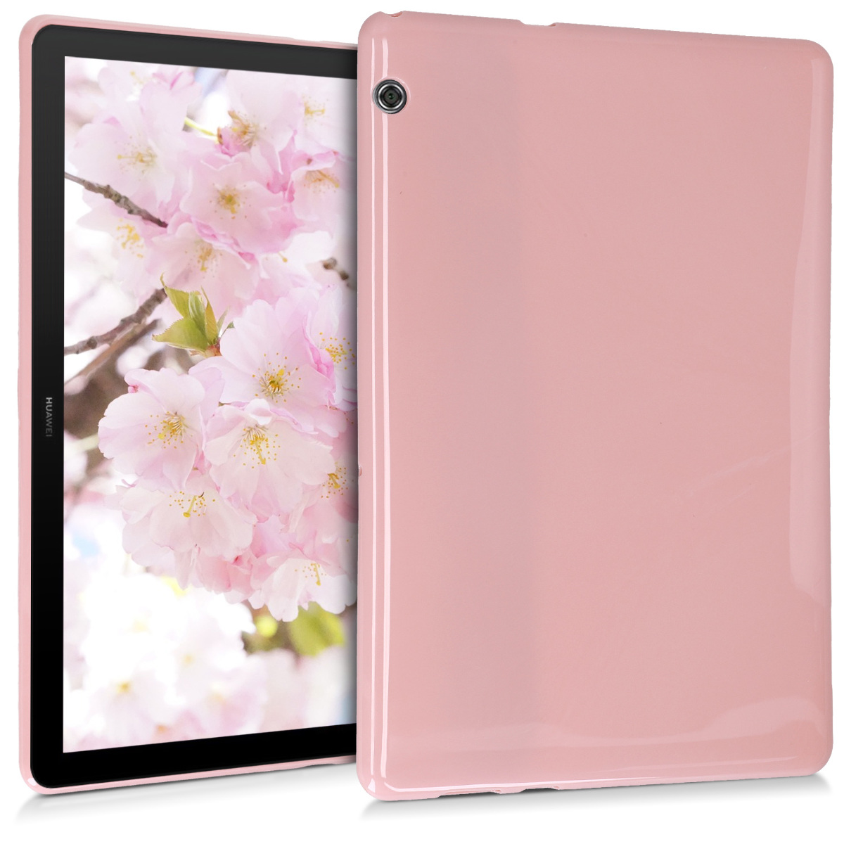KW Θήκη Σιλικόνης Huawei MediaPad T5 10.1'' - Dusty Pink (47812.52)