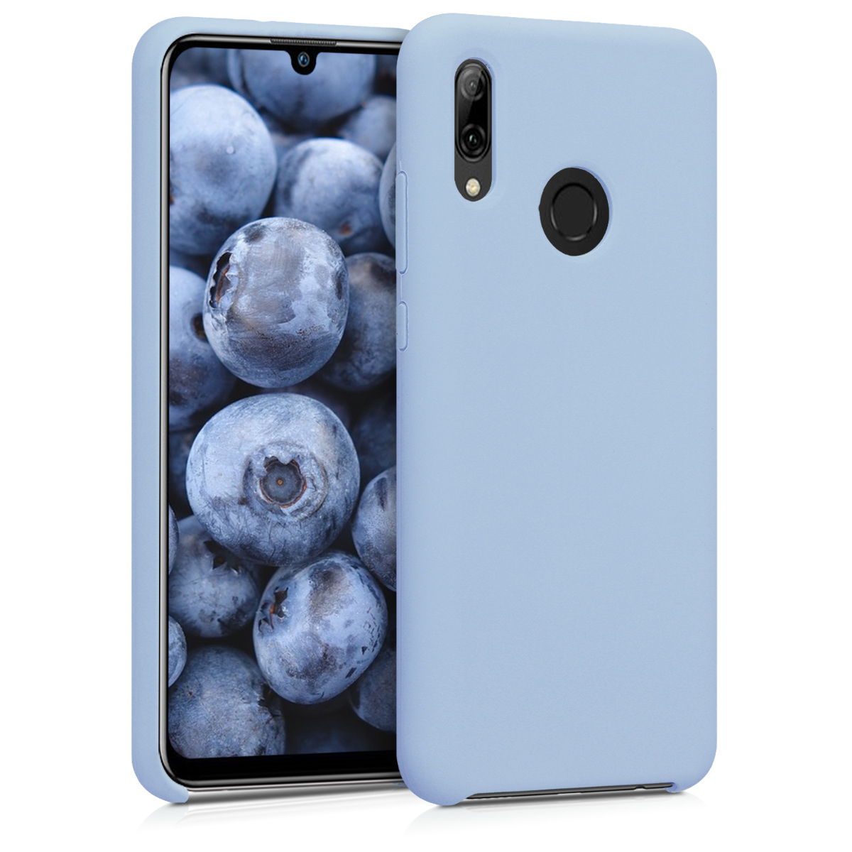 KW Θήκη Σιλικόνης Huawei P Smart 2019 - Soft Flexible Rubber - Light Blue Matte (47824.58)