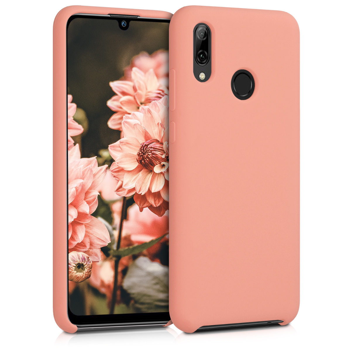 KW Θήκη Σιλικόνης Huawei P Smart 2019 - Soft Flexible Rubber - Coral (47824.76)