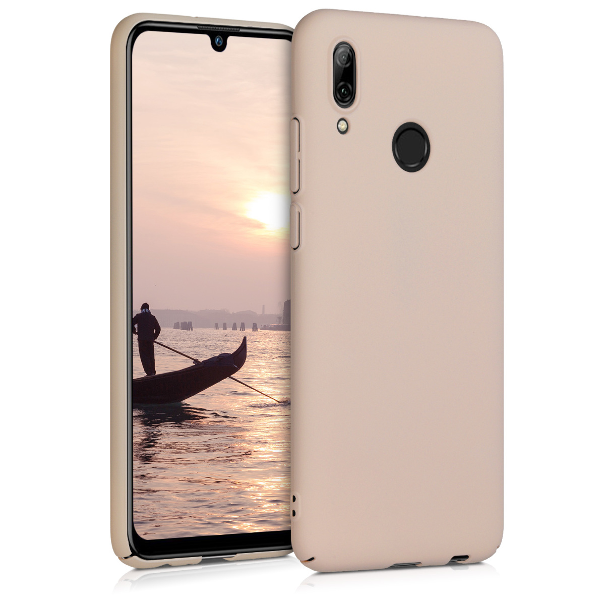 KW Σκληρή θήκη - Huawei P Smart (2019) -  Rose Gold Matte (47825.89)