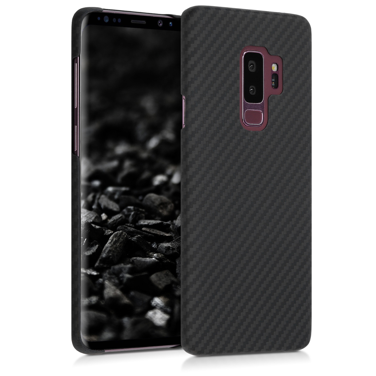 Kalibri Aramid Fiber Body - Σκληρή Θήκη Samsung Galaxy S9 Plus - Black Matte (47940.47)