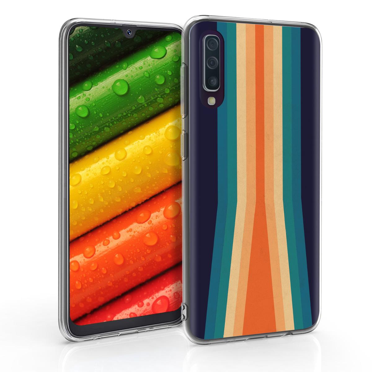 KW Θήκη Σιλικόνης Samsung Galaxy A50 - Multicolor (48061.12)