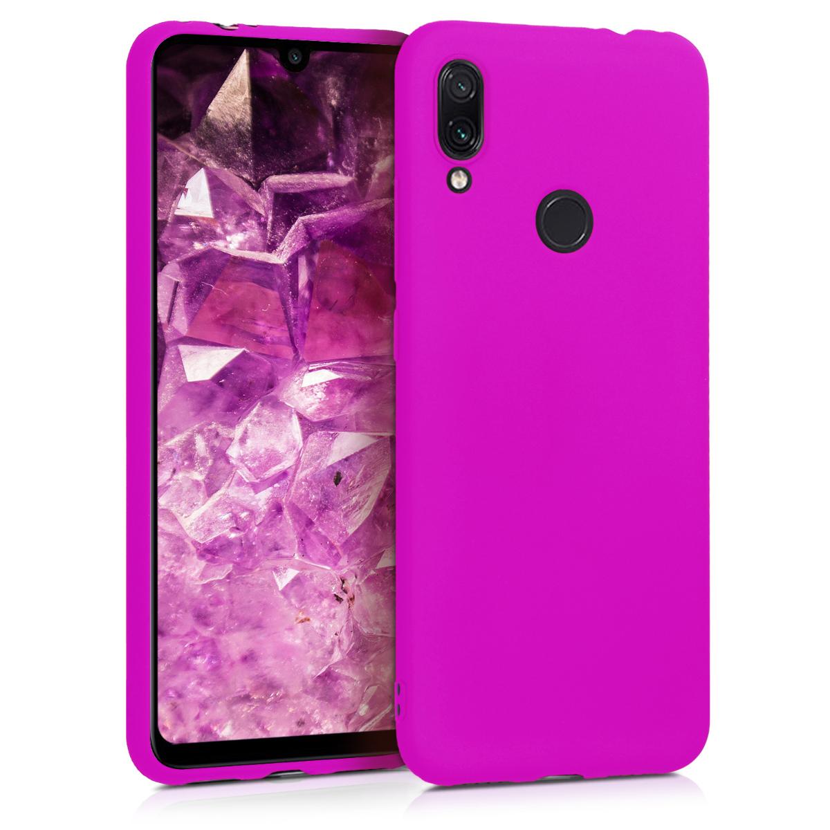 KW Θήκη Σιλικόνης Xiaomi Redmi Note 7 / Note 7 Pro - Neon Violet (48153.82)