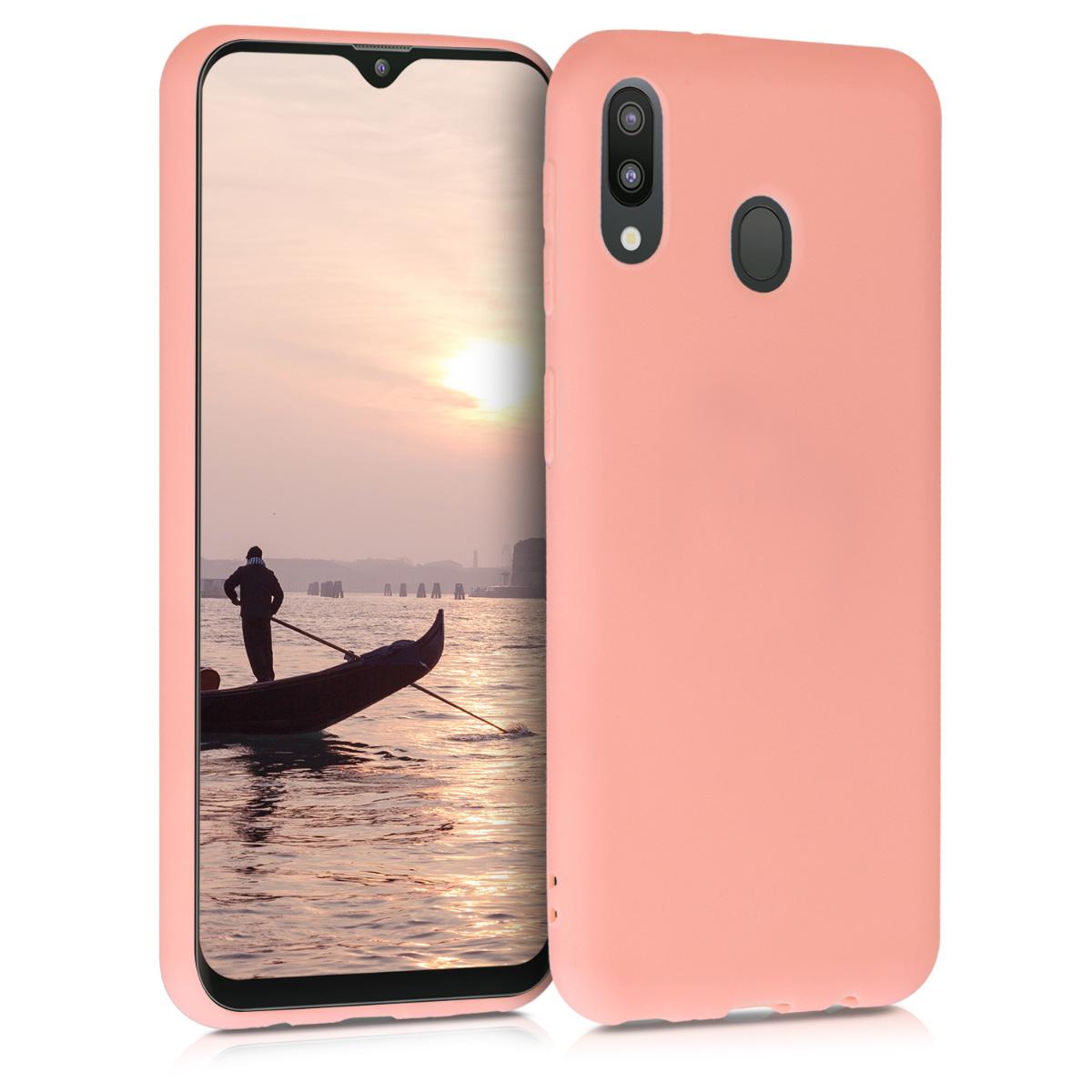 KW Θήκη Σιλικόνης Samsung Galaxy M20 - Coral Matte (48309.56)