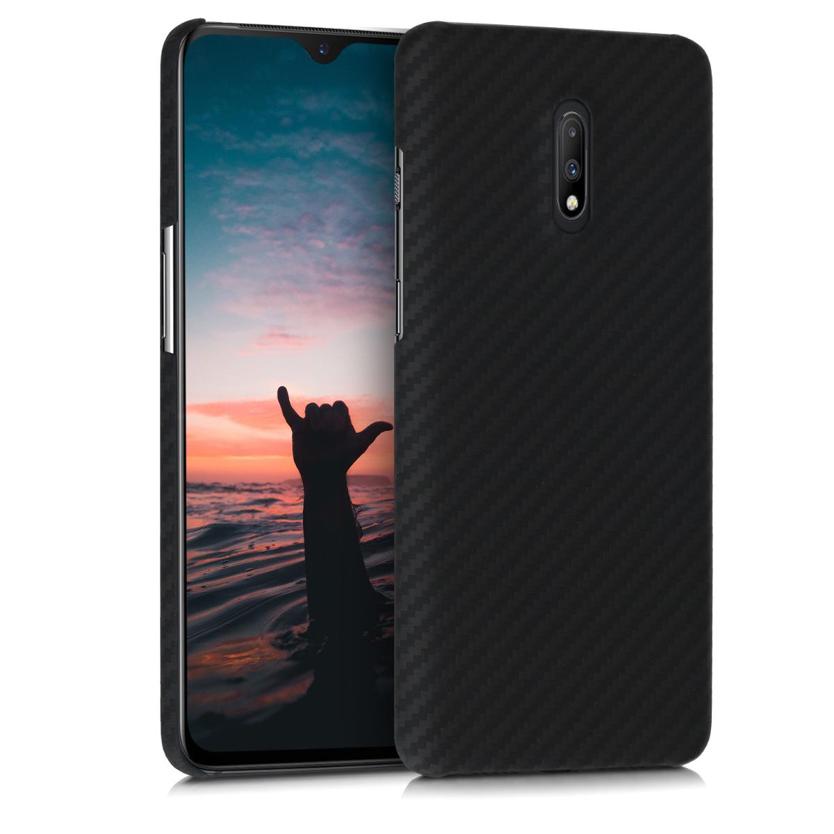 Kalibri Aramid Fiber Body - Σκληρή Θήκη OnePlus 7 - Black Matte (48580.47)