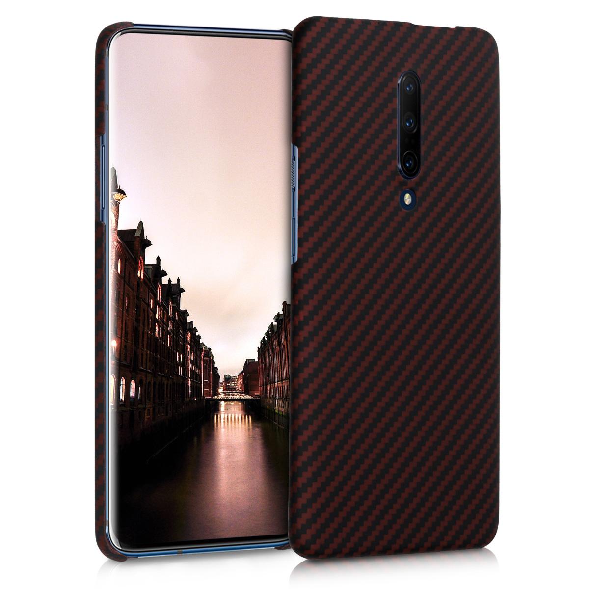 Kalibri Aramid Fiber Body - Σκληρή Θήκη OnePlus 7 Pro - Red / Black (48596.09)