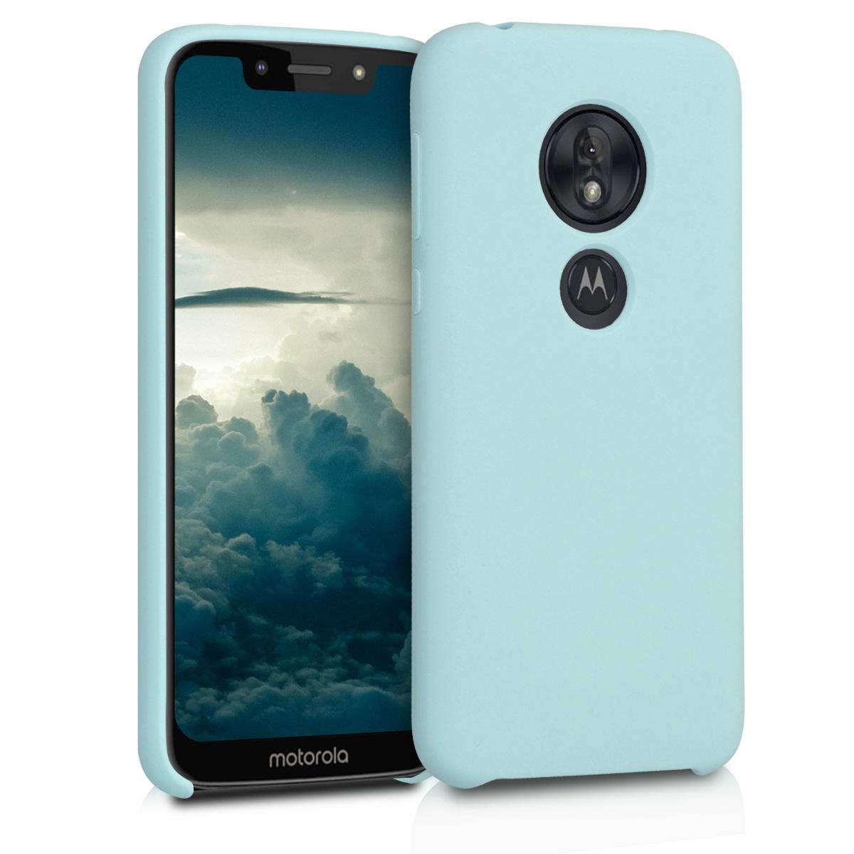 KW Θήκη Σιλικόνης Motorola Moto G7 Play - Soft Flexible Rubber - Mint (48631.71)
