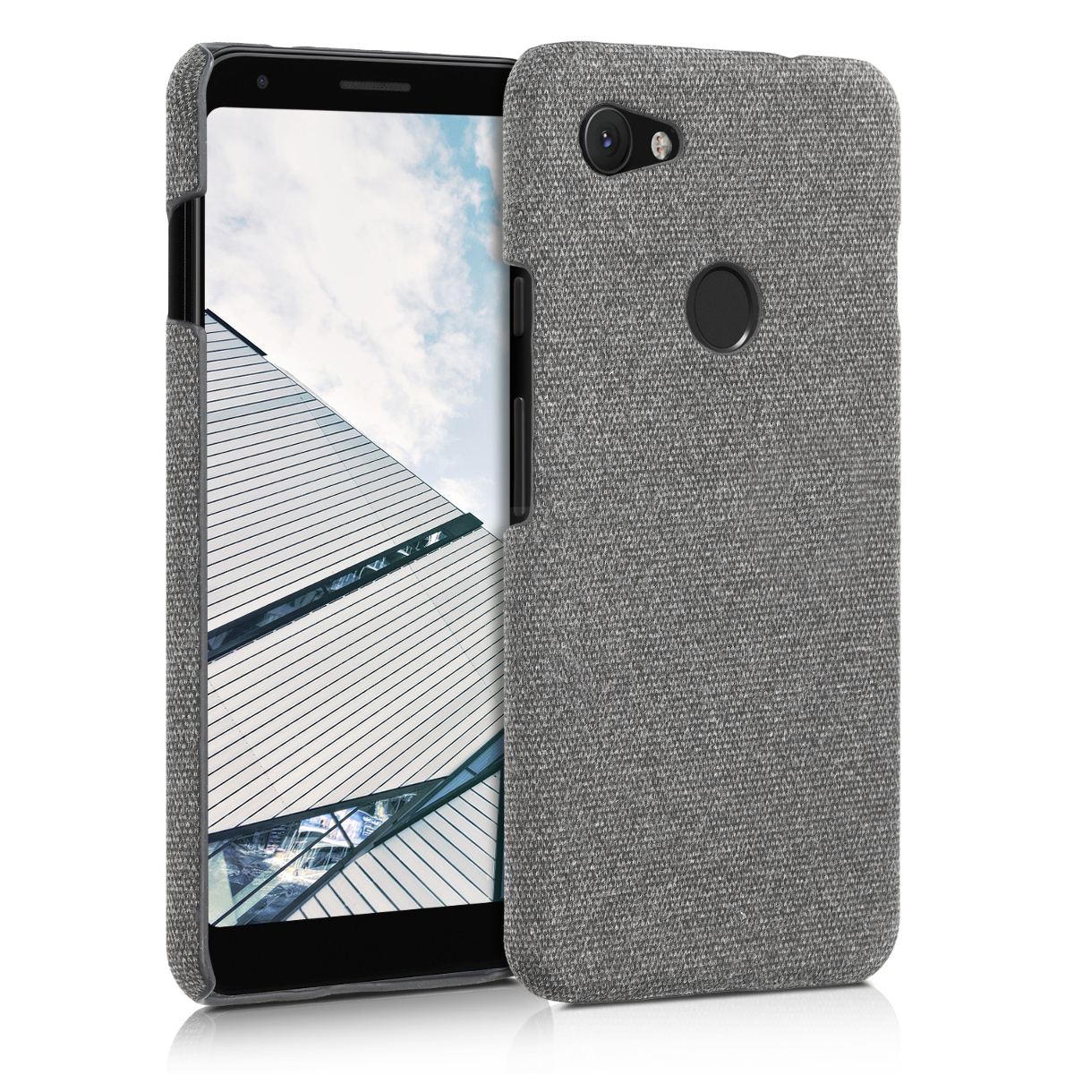 KW Σκληρή Θήκη Google Pixel 3a XL - Light Grey (48735.25)