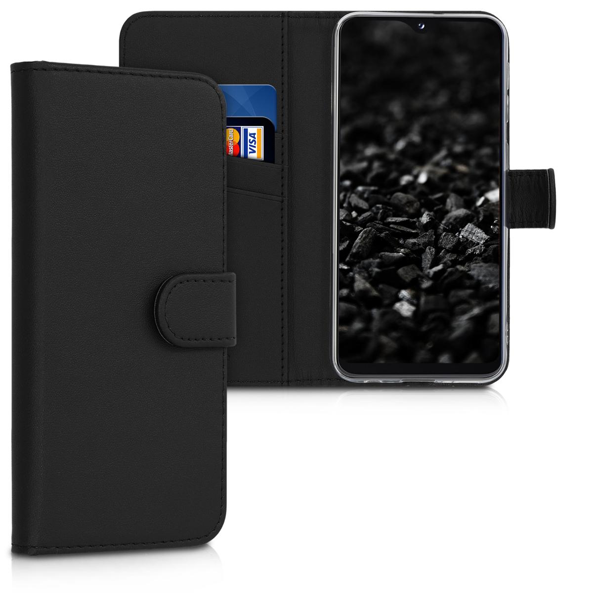 KW Θήκη Πορτοφόλι Samsung Galaxy A20e - Black (48740.01)