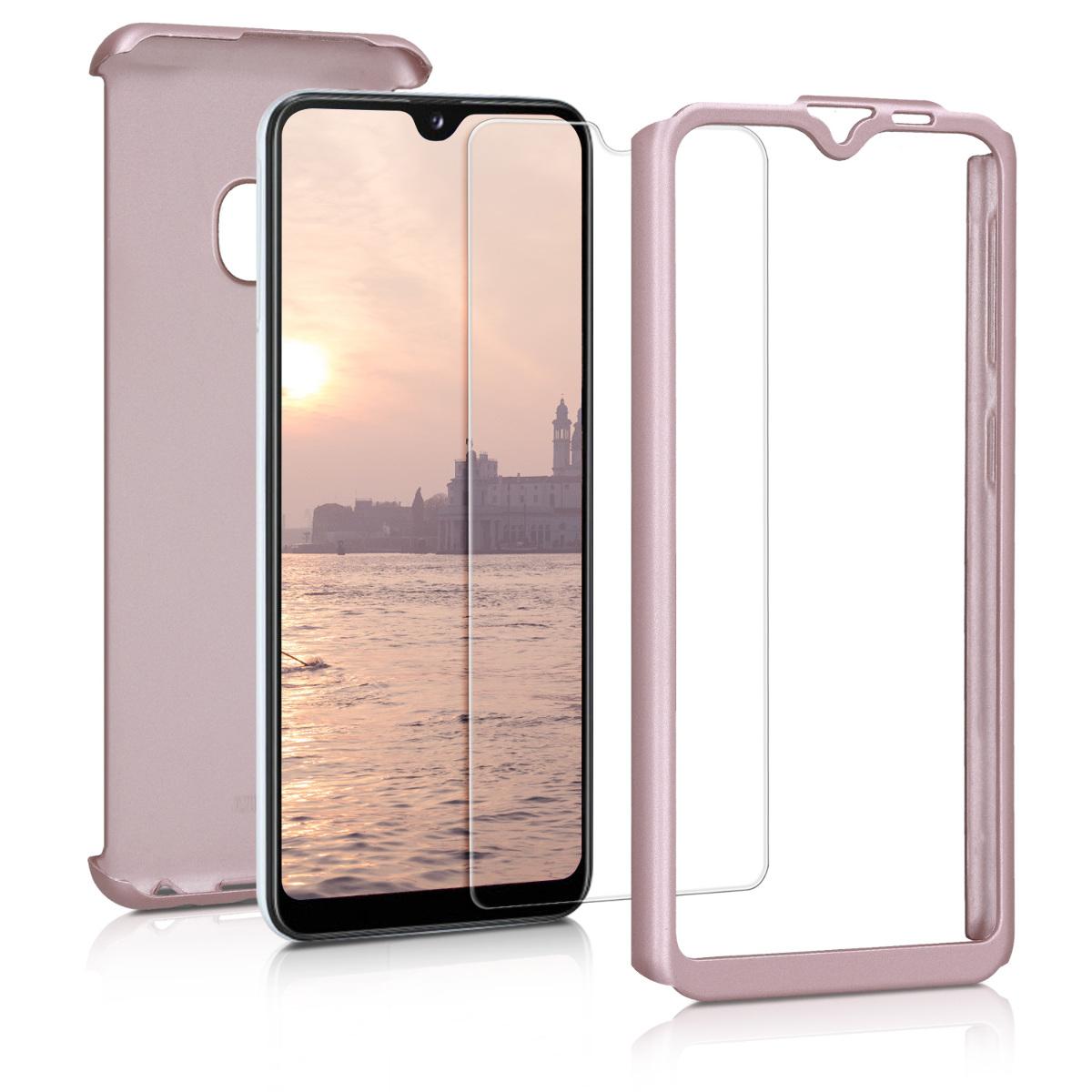 KW Θήκη Full Body Samsung Galaxy A20e - Metallic Rose Gold (48745.31)