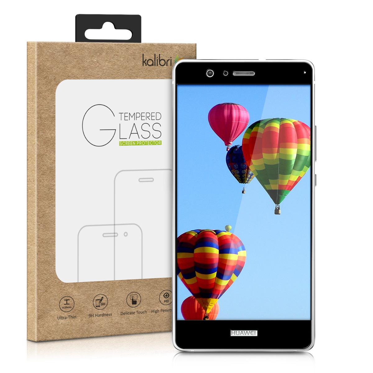 Kalibri Tempered Glass - Fullface Αντιχαρακτικό Γυαλί Οθόνης Huawei P9 Lite - Black (48799.01)