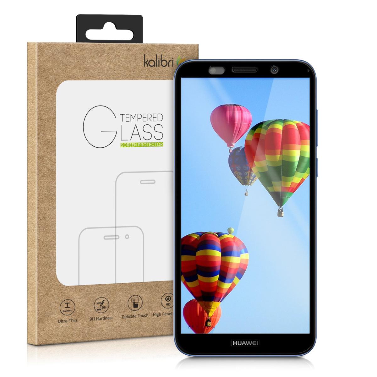 Kalibri Tempered Glass - Fullface Aντιχαρακτικό Γυαλί Οθόνης Huawei Y5 / Y5 Prime 2018 - Black (48802.01)