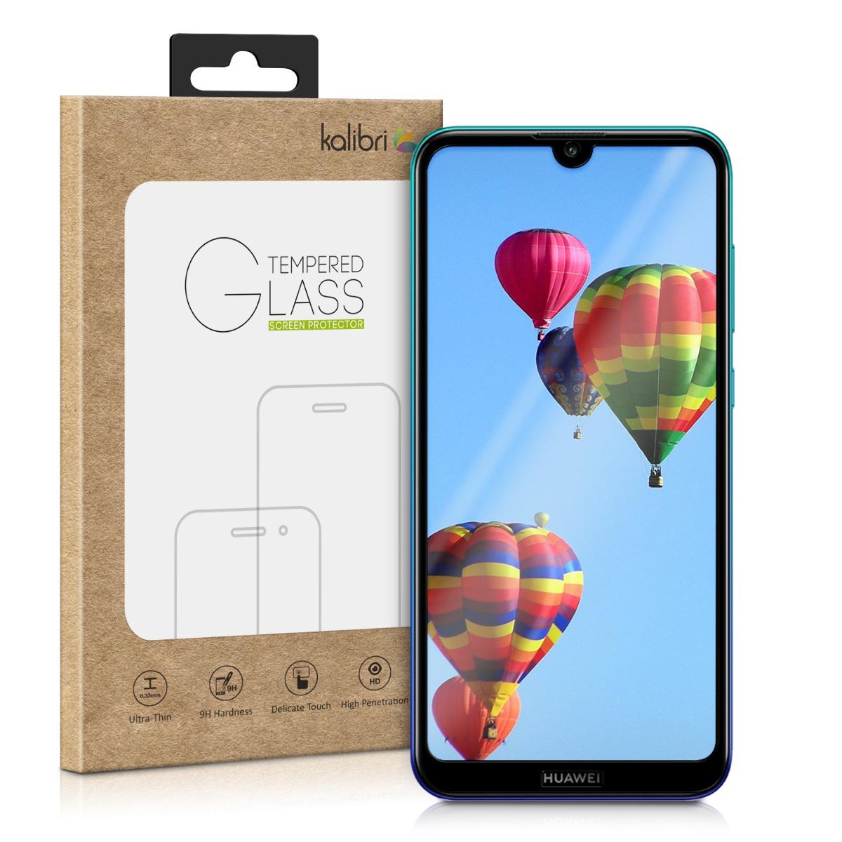 Kalibri Tempered Glass - Fullface Αντιχαρακτικό Γυαλί Οθόνης Huawei Y7 2019 / Y7 Prime 2019 - Black (48805.01)