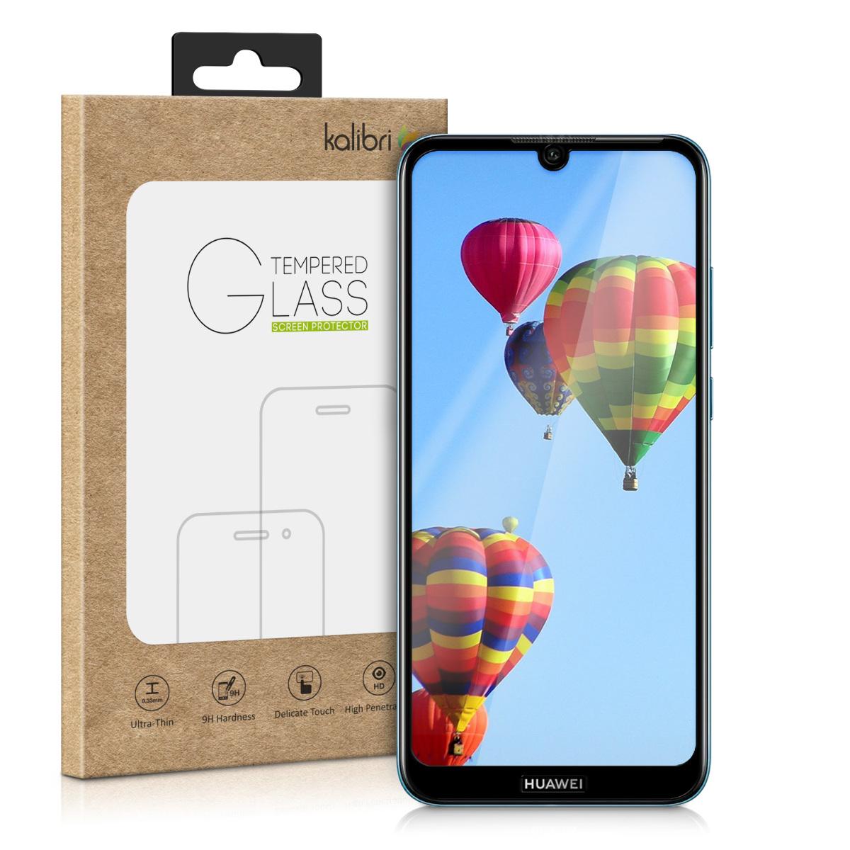 Kalibri Tempered Glass - Fullface Αντιχαρακτικό Γυαλί Οθόνης Huawei Y6 2019 - Black (48806.01)