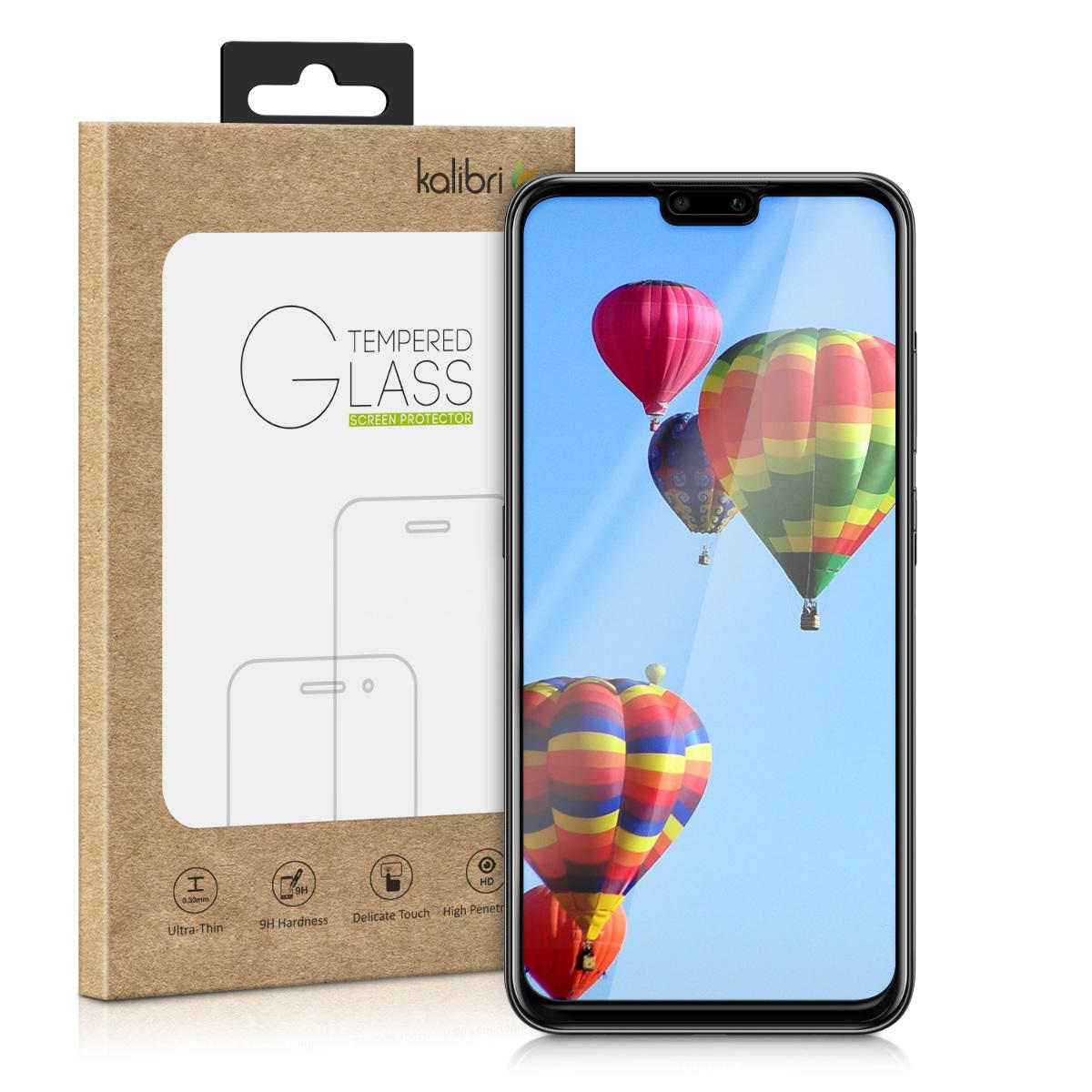 Kalibri Tempered Glass - Fullface Αντιχαρακτικό Γυαλί Οθόνης Huawei Y9 2019 - Black (48808.01)