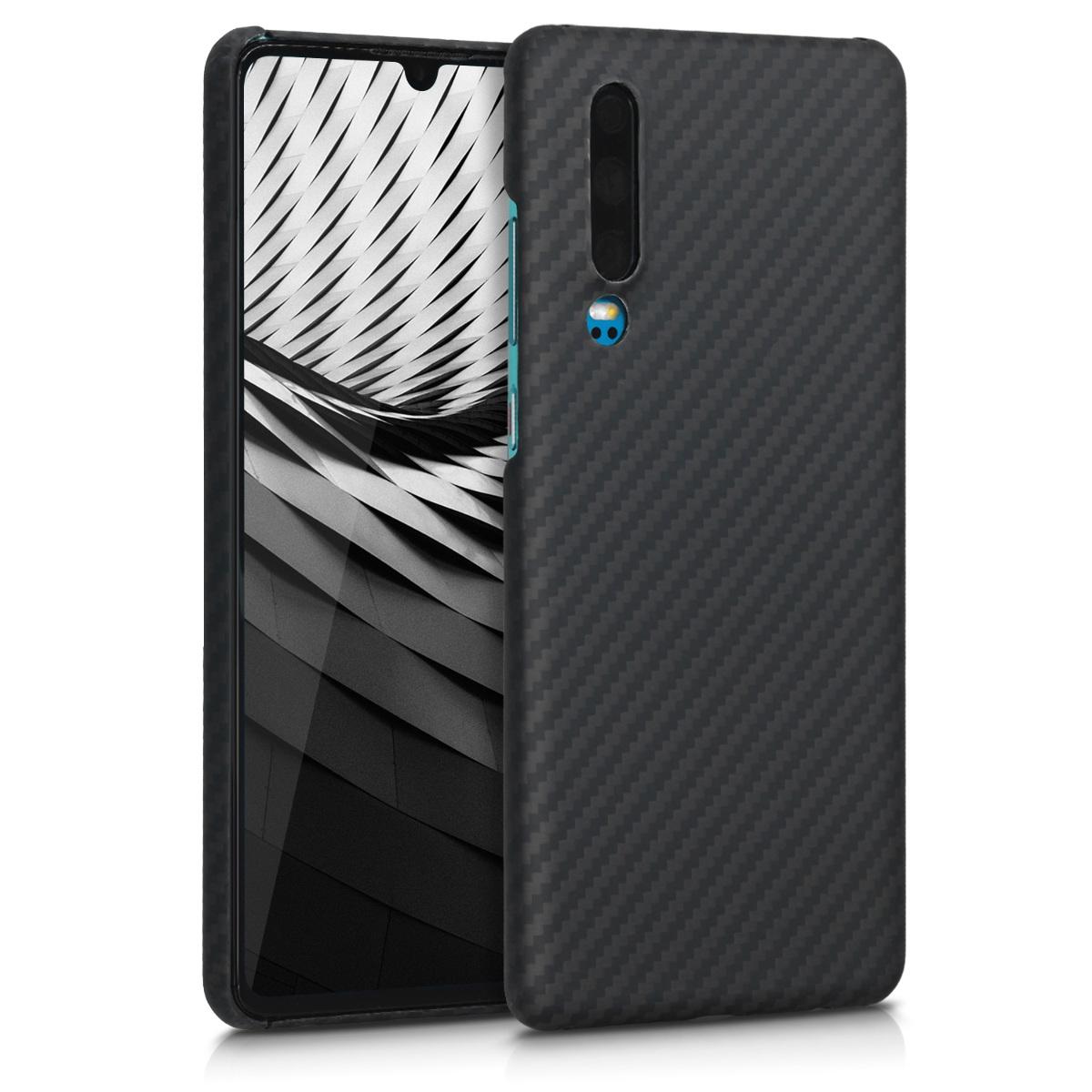 Kalibri Aramid Fiber Body - Σκληρή Θήκη Huawei P30 - Black Matte (49214.47)