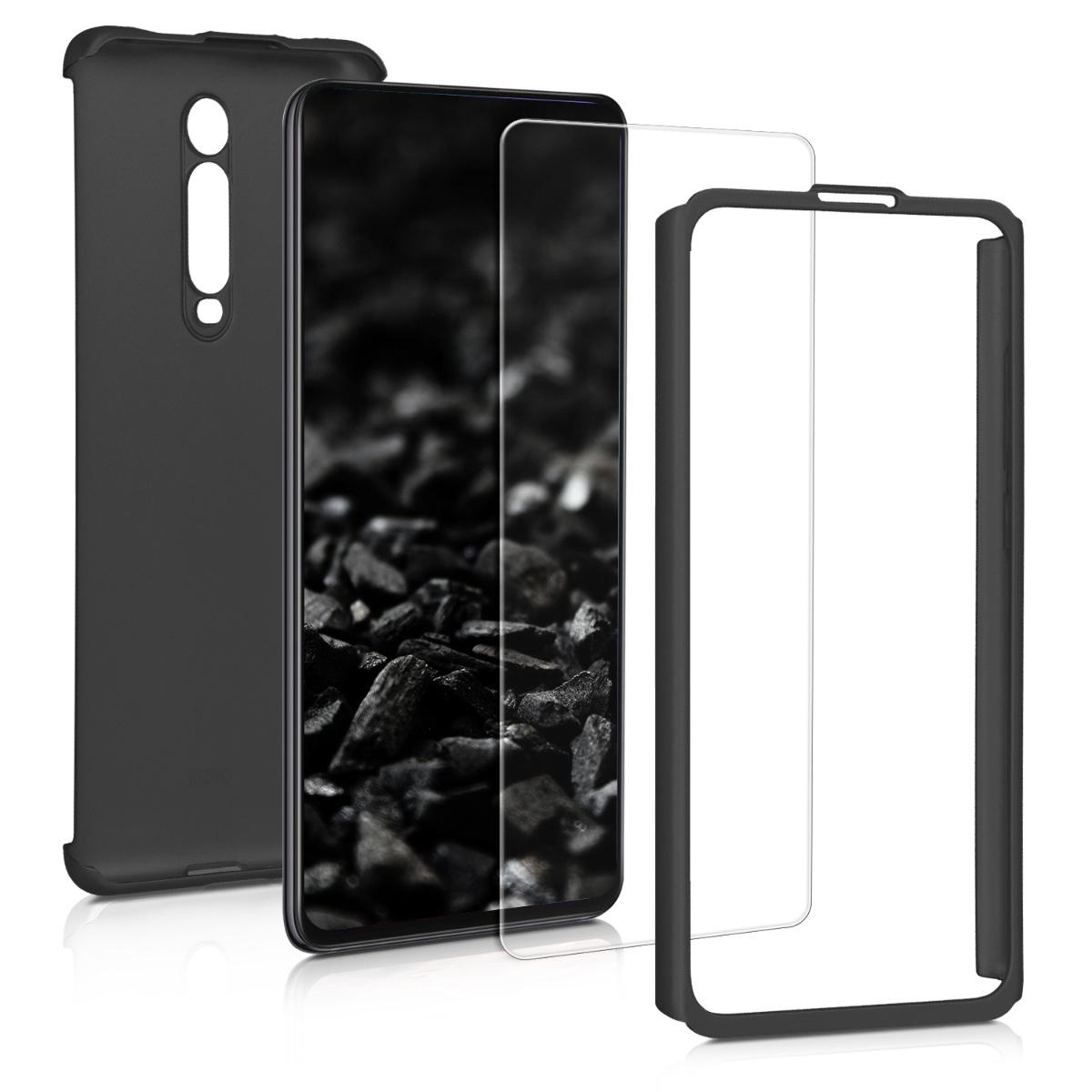 KW Θήκη Full Body Xiaomi Mi 9T / Redmi K20 Pro & Tempered Glass - Metallic Black (49226.68)