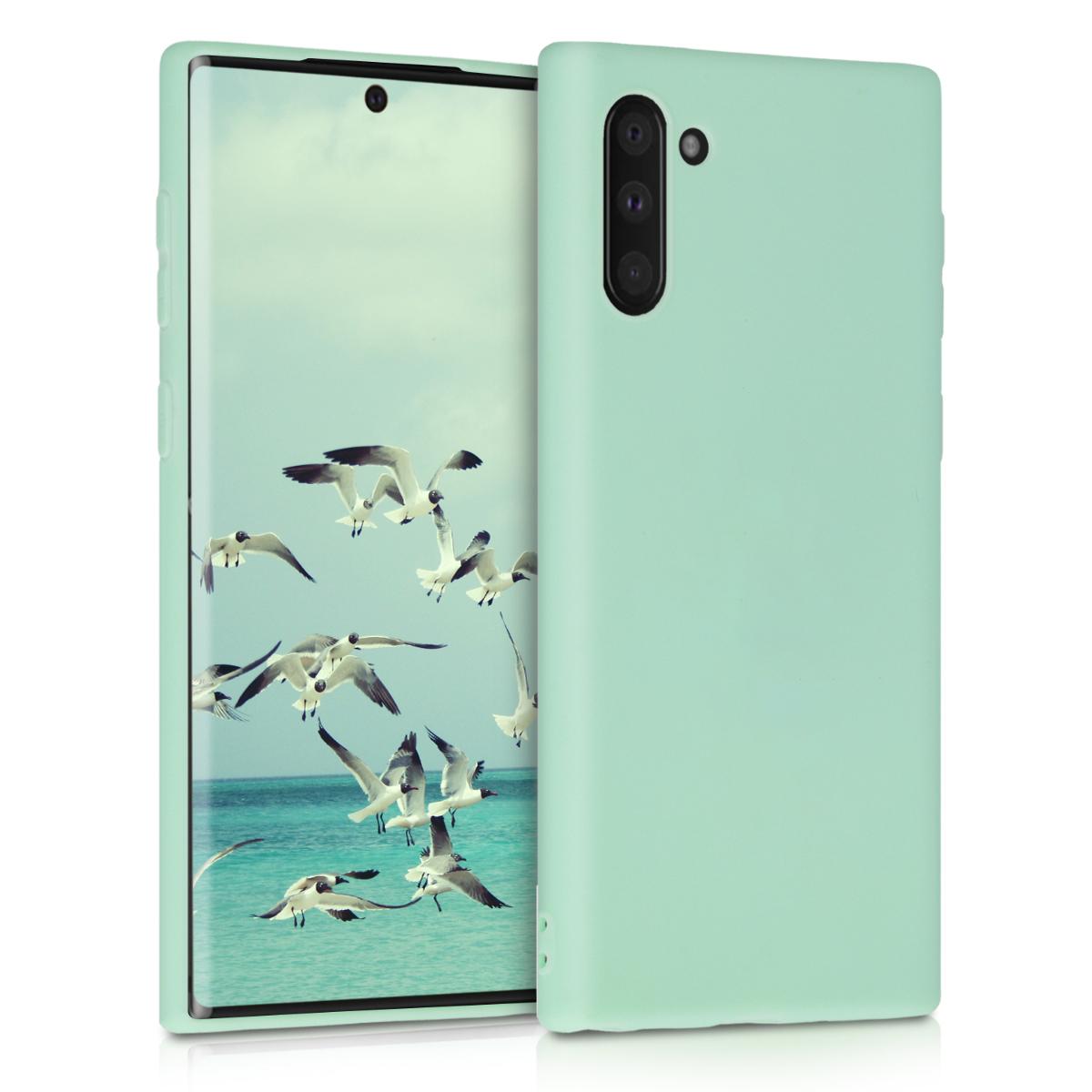 KW Θήκη Σιλικόνης Samsung Galaxy Note 10 - Mint Matte (49274.50)