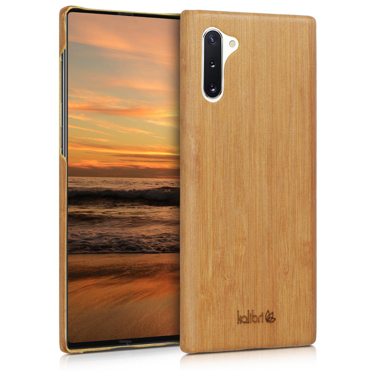 Kalibri Ξύλινη Θήκη Samsung Galaxy Note 10 - Natural Hard Wooden Protective Cover (49277.24)