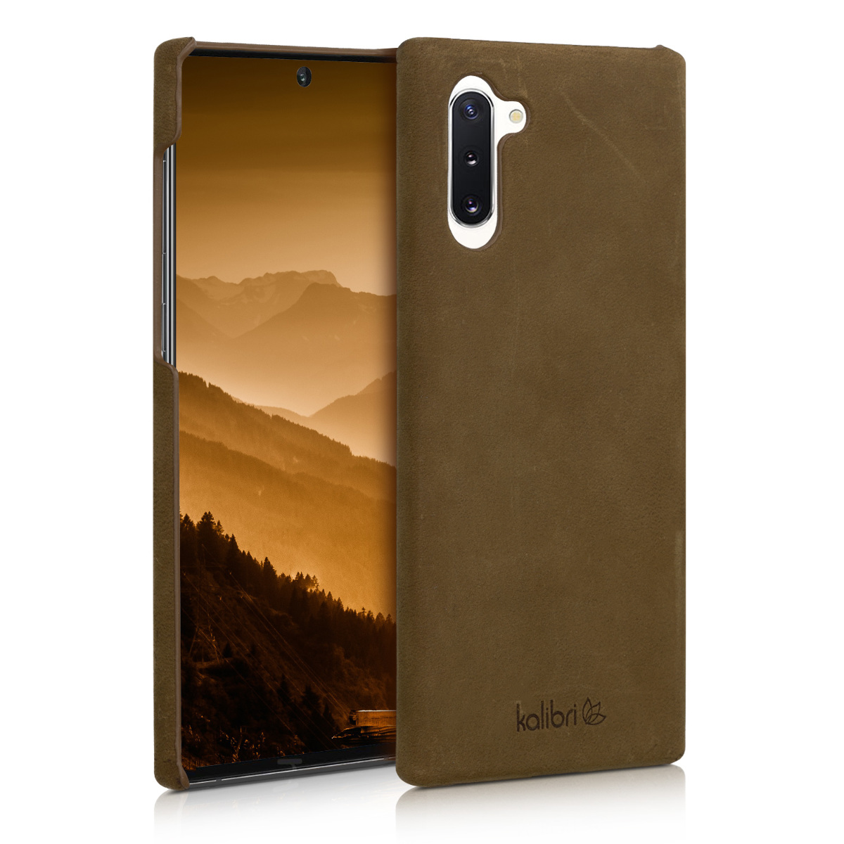 Kalibri Σκληρή Δερμάτινη Θήκη Samsung Galaxy Note 10 - Brown (49278.05)