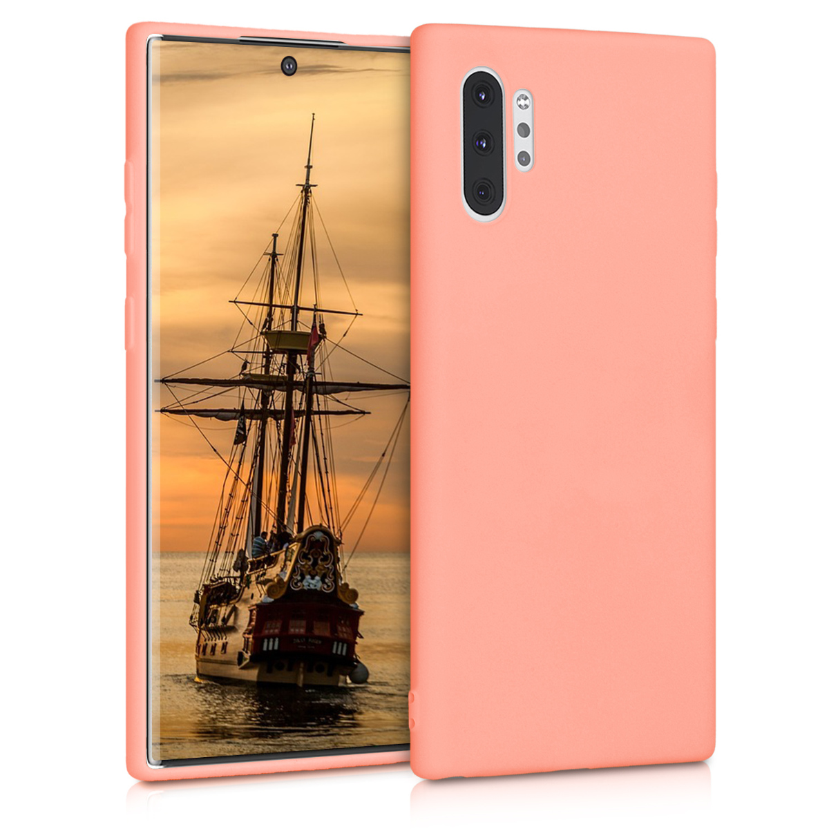 KW Θήκη Σιλικόνης Samsung Galaxy Note 10 Plus - Coral Matte (49353.56)