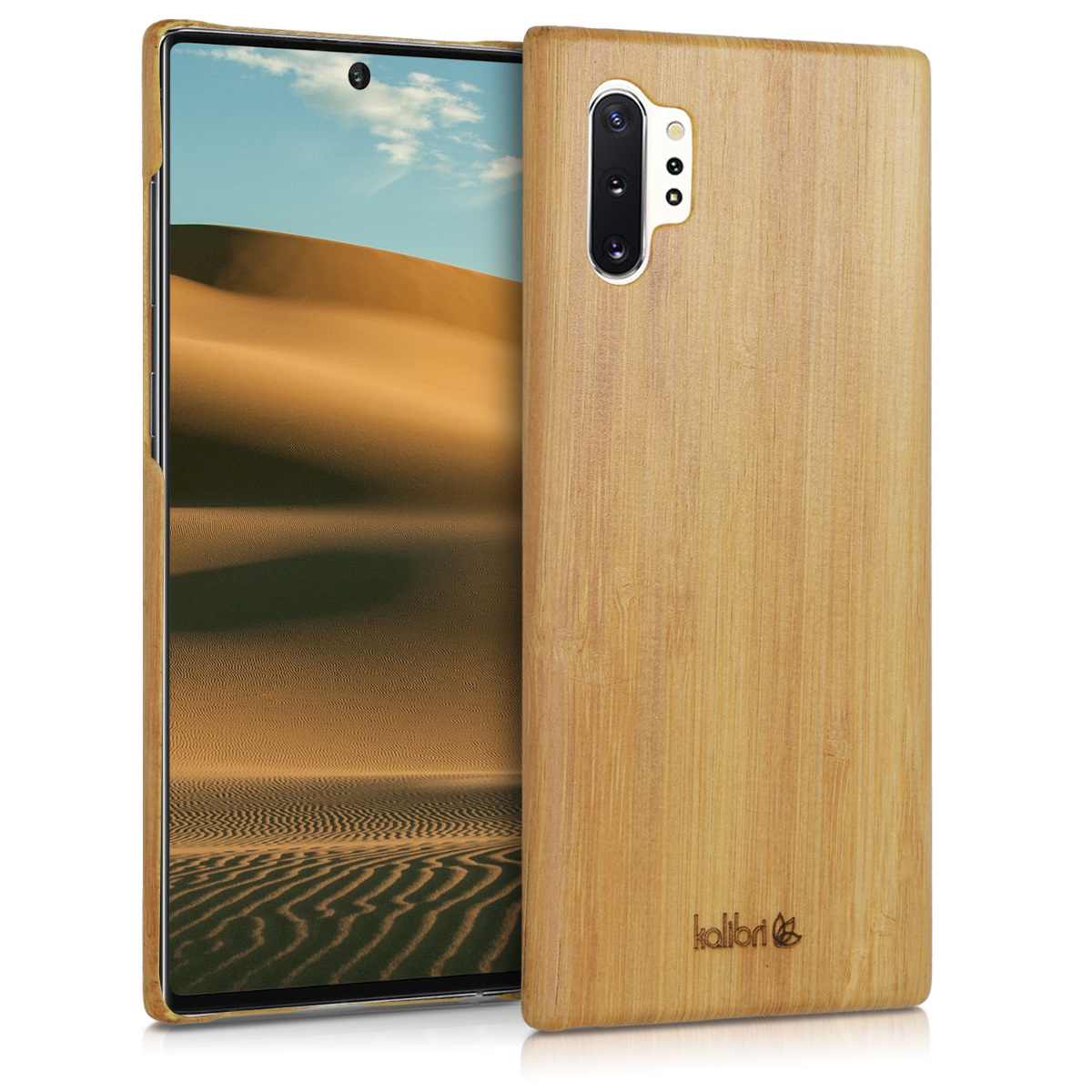 Kalibri Ξύλινη Θήκη Samsung Galaxy Note 10 Plus - Natural Hard Wooden Protective Cover (49354.24)