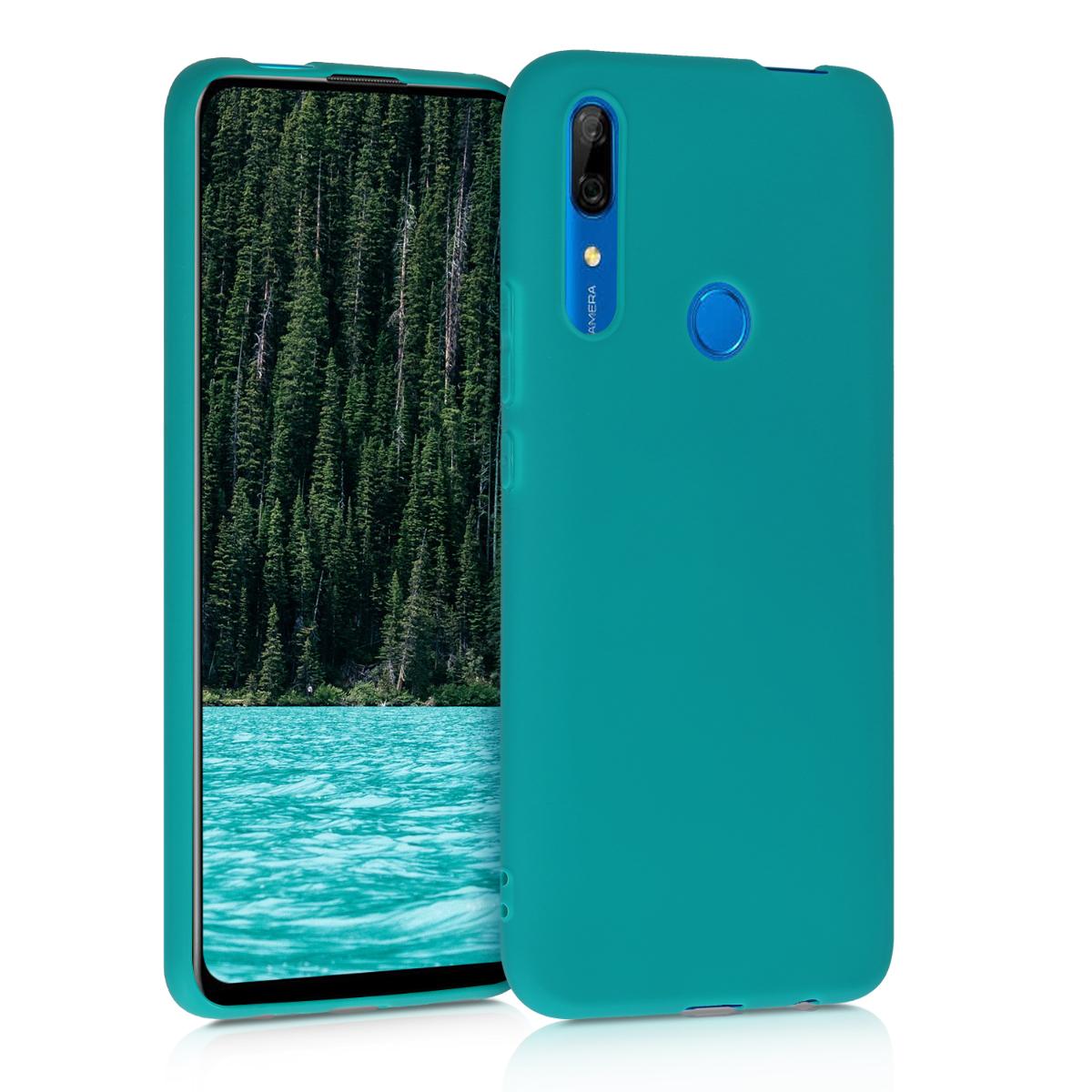 KW Θήκη Σιλικόνης Huawei P Smart Z - Teal Matte (49449.57)