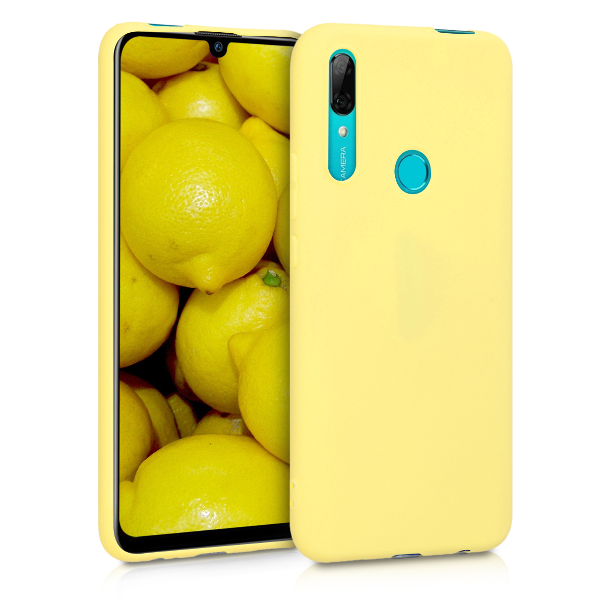 KW Θήκη Σιλικόνης Huawei P Smart Z - Yellow Matte (49449.49)