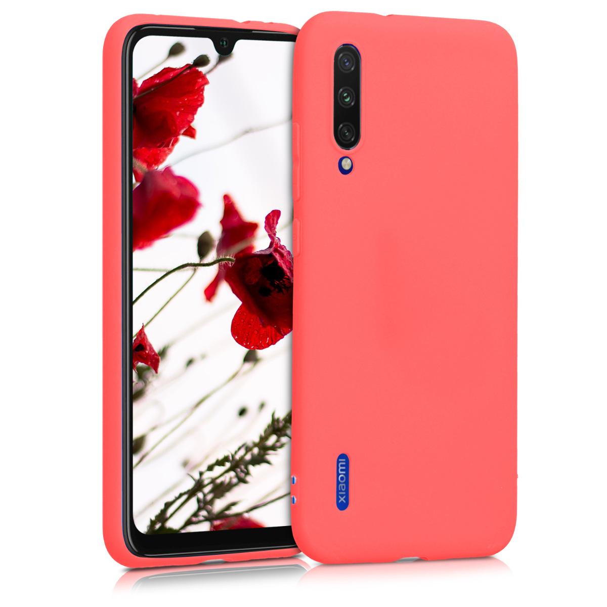 KW Θήκη Σιλικόνης Xiaomi Mi A3 - Living Coral (49674.141)