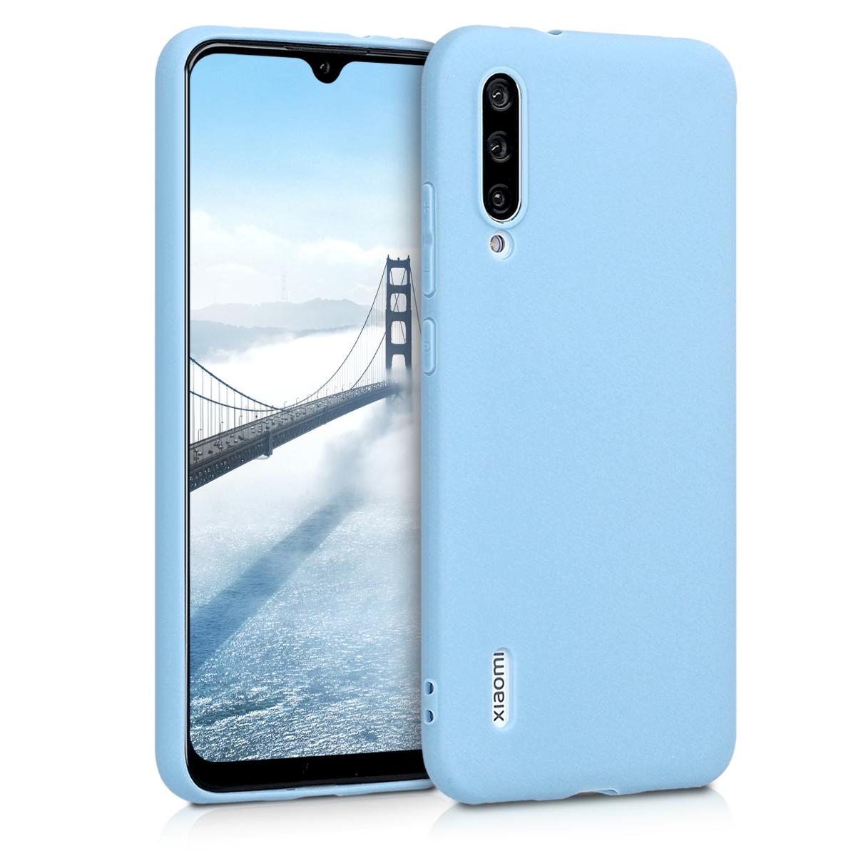 KW Θήκη Σιλικόνης Xiaomi Mi A3 - Dove Blue (49674.161)