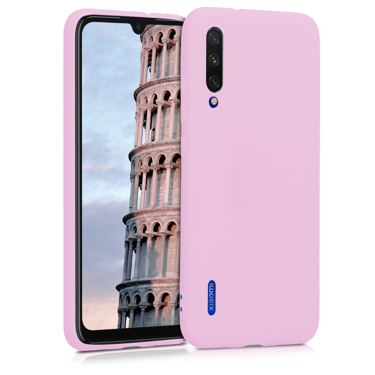 KW Θήκη Σιλικόνης Xiaomi Mi A3 - Light Pink Matte (49674.63)