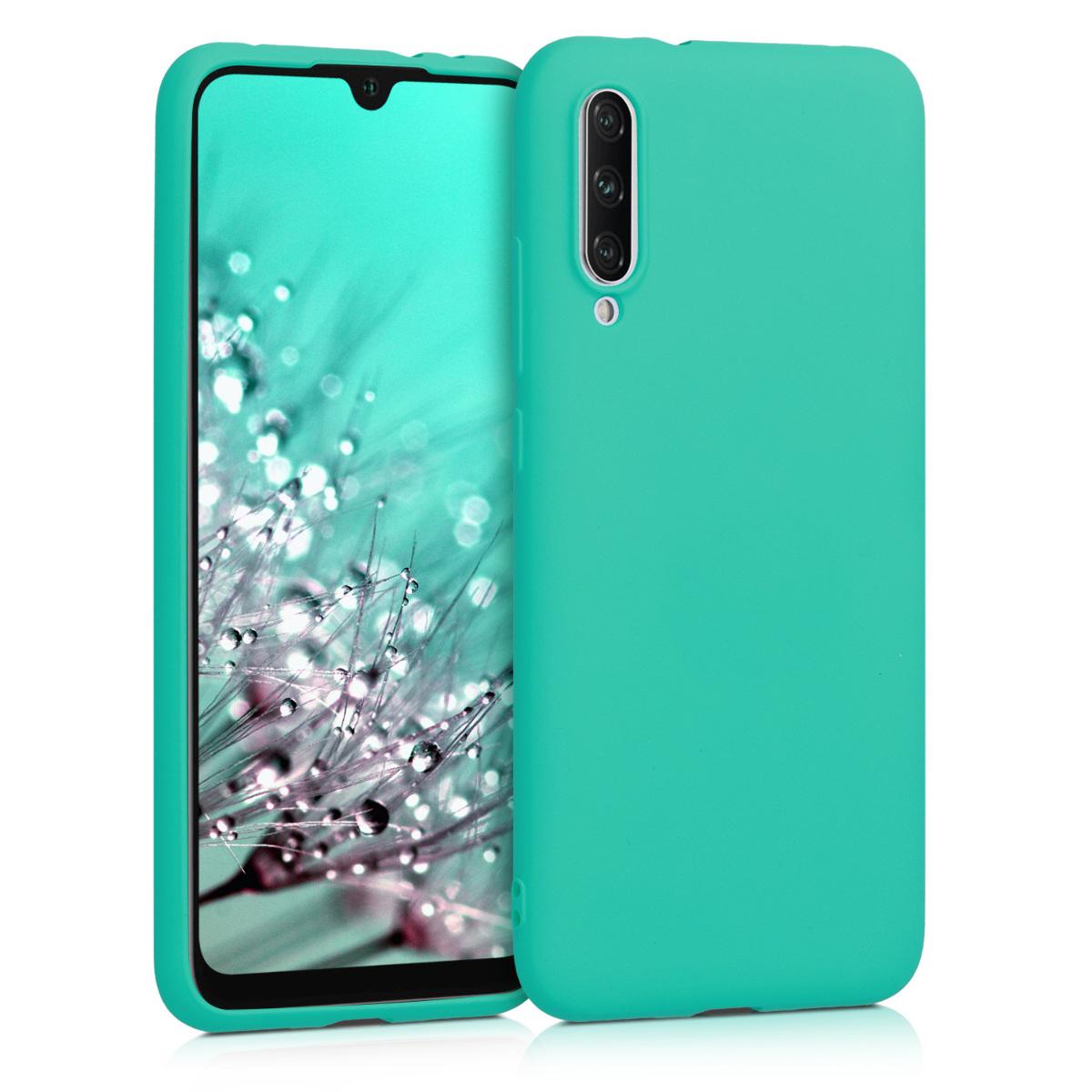 KW Θήκη Σιλικόνης Xiaomi Mi A3 - Neon Turquoise (49675.126)