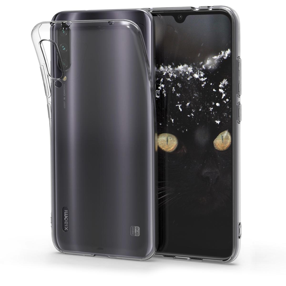 KW Θήκη Σιλικόνης Xiaomi Mi A3  - Transparent (49677.03)