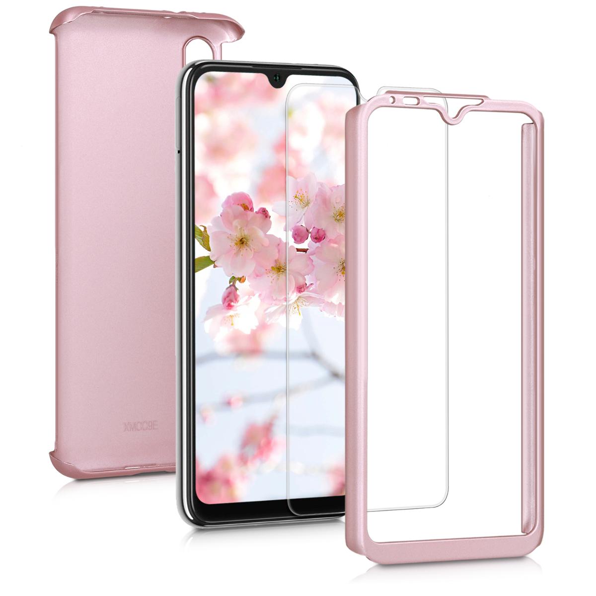KW Θήκη Full Body Xiaomi Mi A3 & Tempered Glass - Metallic Rose Gold (49678.31)
